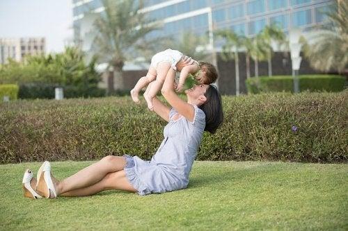 La luce del sole fa bene alle vostre ossa e a quelle del vostro bambino
