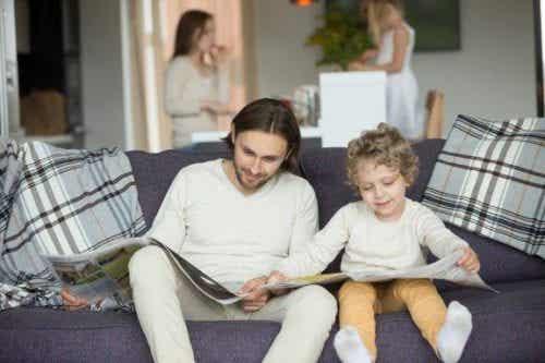 Il miglior esempio per i bambini è la famiglia