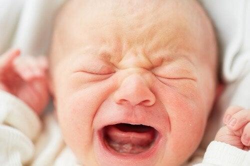 Il pianto nella prima settimana di vita del neonato