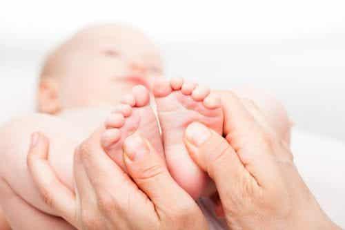 Riflessologia per neonati e bambini