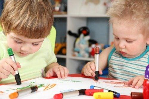 Gli scarabocchi dei bambini e il loro significato