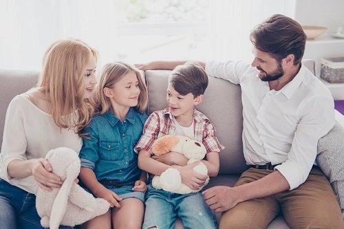 I 5 valori di ogni famiglia felice