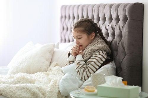 Bambina con infezioni respiratorie