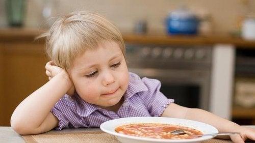 quando i nostro figlio non vuole mangiare