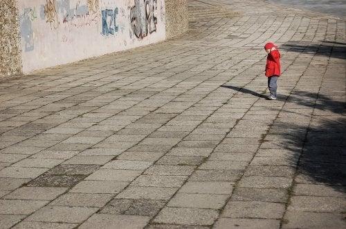 Un bambino di tre anni inizia a voler essere più indipendente