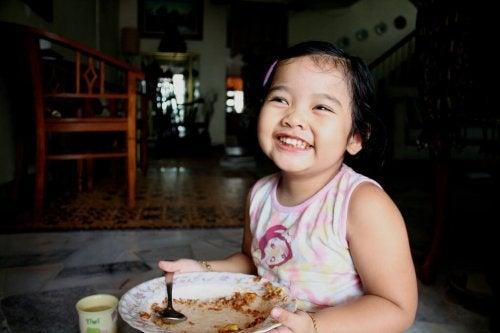 Cibi che fanno la felicità del bambino