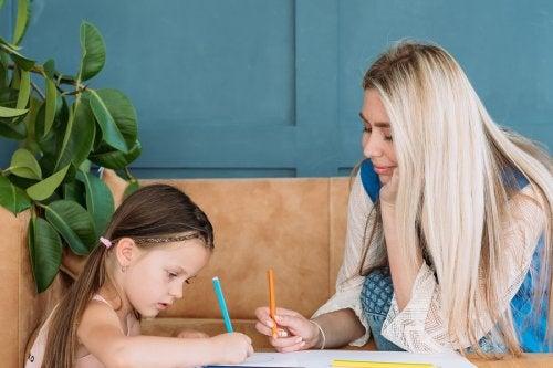 il disegno è un ottimo strumento per aiutare i bambini a non commettere errori di ortografia