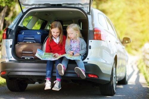 8 giochi per intrattenere i bambini durante i viaggi lunghi