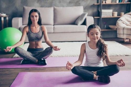Esercizi di respirazione per bambini