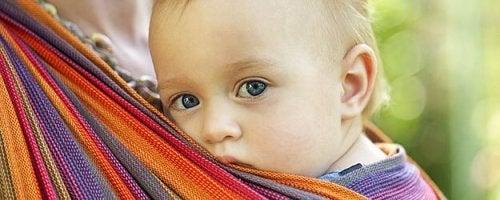 il babywearing è molto rilassante