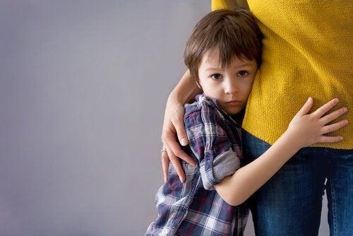 le paure irrazionali sono un fenomeno molto comune nell'infanzia
