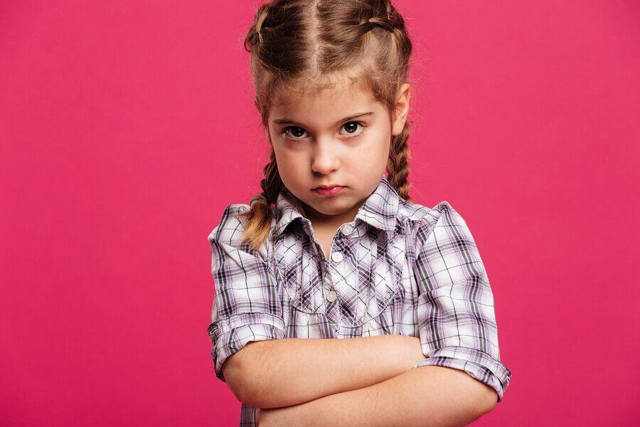 I figli discutono e si arrabbiano