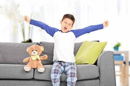 10 problemi dei bambini che dormono poco