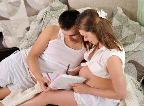 Anche i papà devono prepararsi la parto