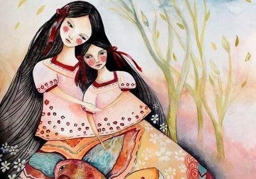 Sentire la mancanza della propria madre durante la maternità