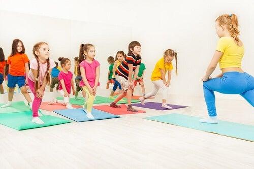 Aerobica per bambini: conoscete i suoi benefici?