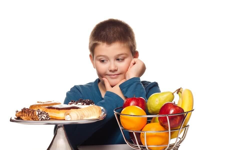 Alimenti per prevenire l'obesità infantile