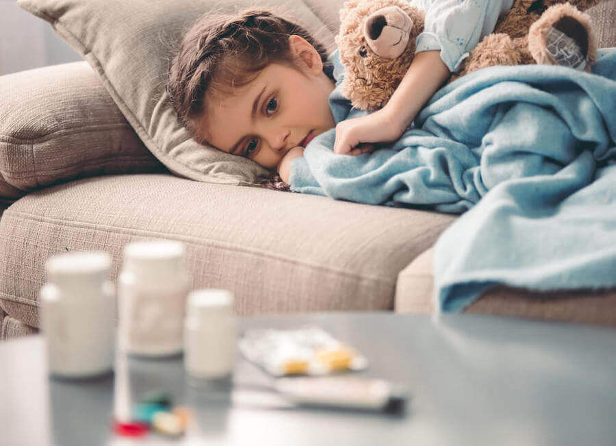 di solito i bambini non assumono volentieri le proprie medicine