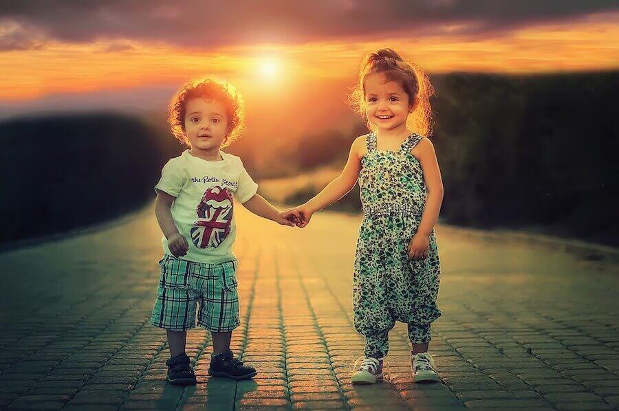 i bambini possiedono la capacità innata di essere tolleranti