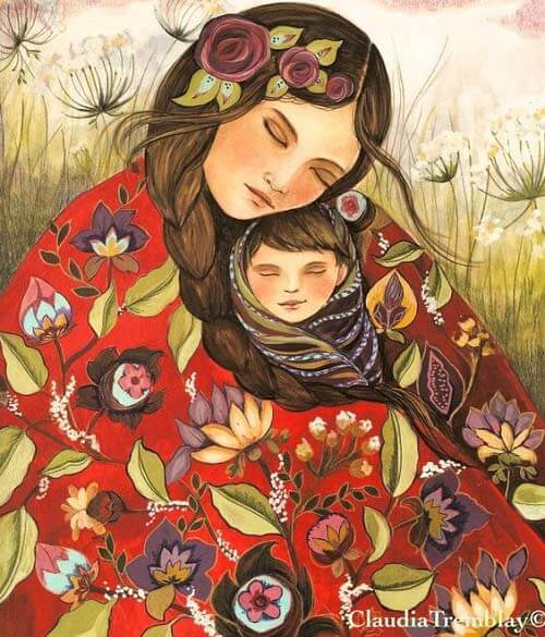 Il cuore della mamma è solo di suo figlio