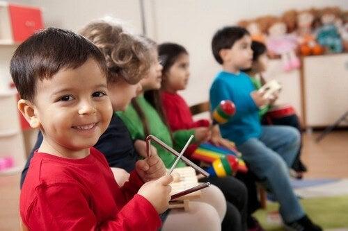 Educazione musicale e benefici per i più piccoli