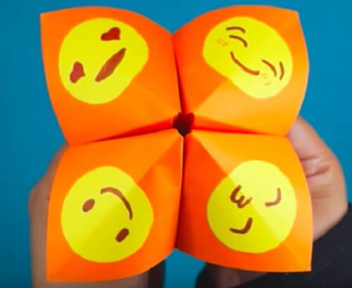 L'origami indovino delle emozioni