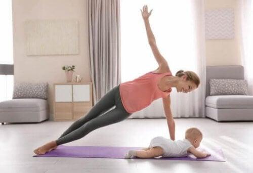 Quali sport posso praticare dopo il parto?