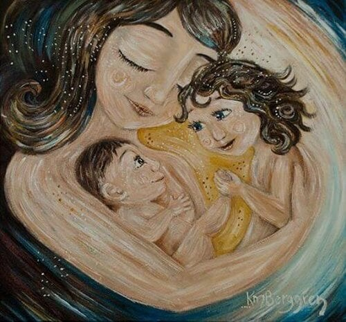 Essere mamma, l'artigiana della vita