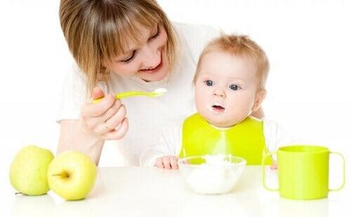 Effetti dell'alimentazione vegana sul latte materno