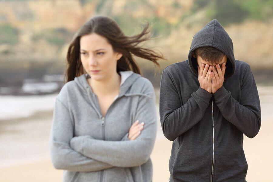 durante l'adolescenza, una delusione amorosa può portare una grande sofferenza