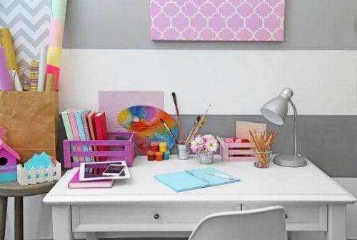 10 idee per la scrivania di vostro figlio