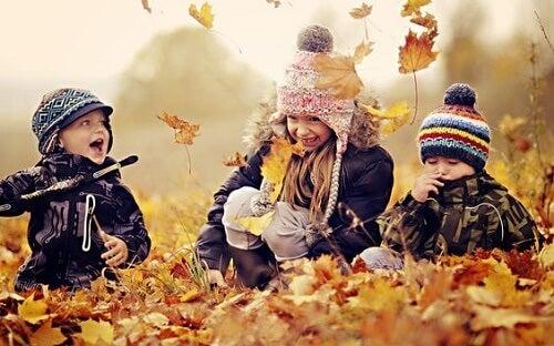 Le sensazioni che aiutano i bambini ad essere felici