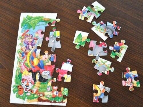Un puzzle per bambini