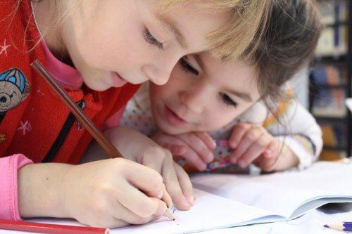 esercizi di scrittura per bambini