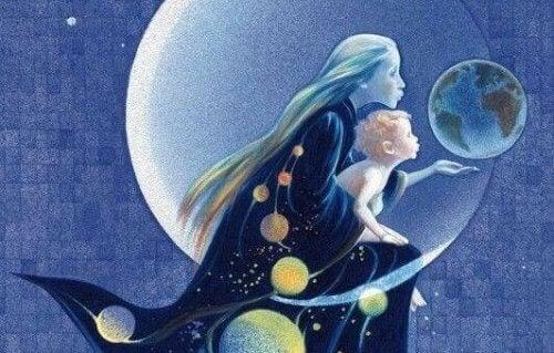 complicità tra madre e figlio