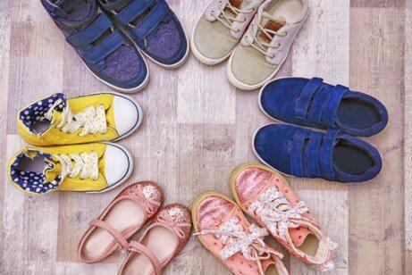 Scarpe adatte ai bambini