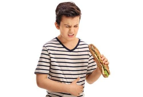 indigestione nei bambini: un fenomeno diffuso