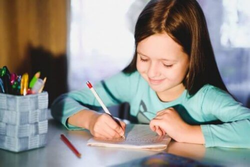5 esercizi per migliorare la calligrafia dei bambini