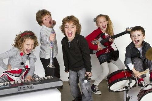 benefici della musica per i bambini