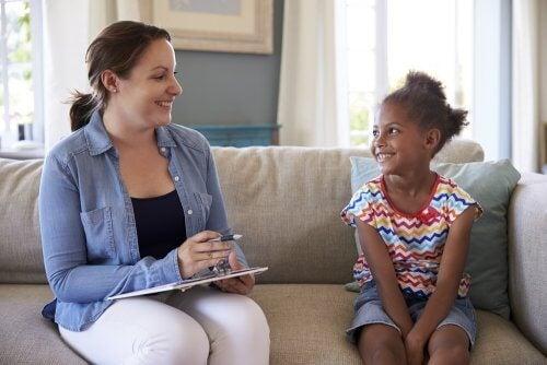 seduta di psicologia pediatrica