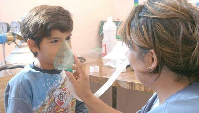 Asma infantile causato dal fumo