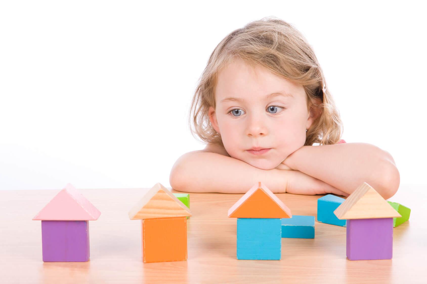 Diagnosi di autismo sui bambini