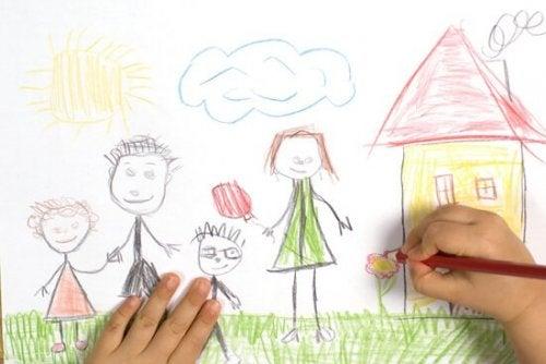Come interpretare i disegni del bambino