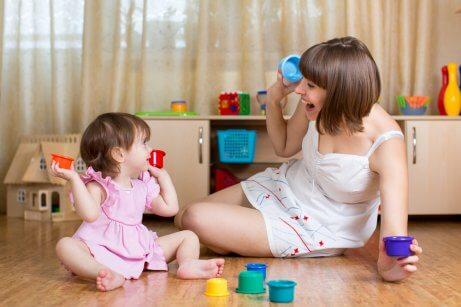 Stimolazione con giocattoli