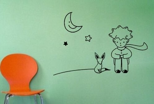 """Disegno basato su """"Il Piccolo Principe"""""""
