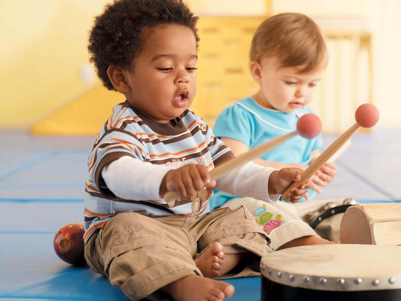 La musica sviluppa la capacità psicomotoria fine
