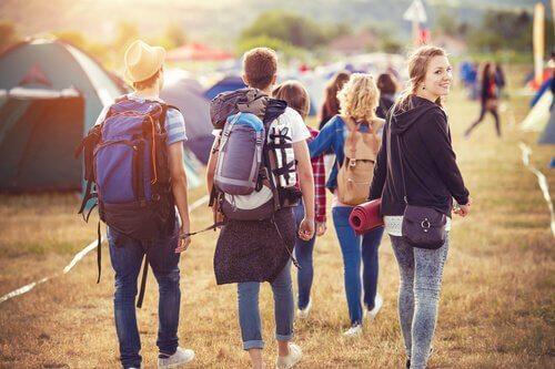 raduno di adolescenti