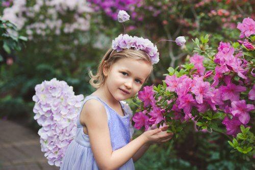 Ghirlande di fiori per bambine per occasioni speciali