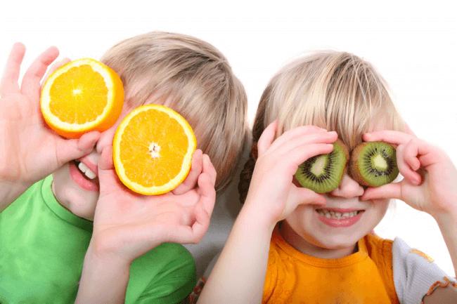 agrumi per il sistema immunitario dei bambini