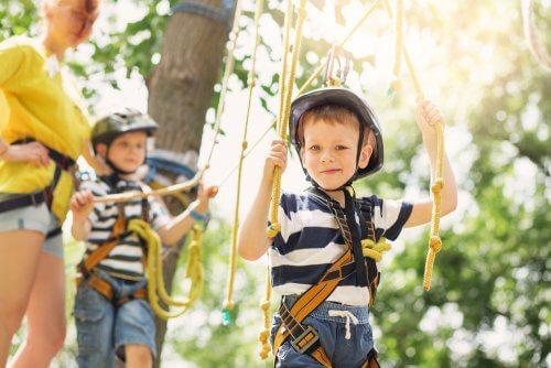 Sport e vacanza per i bambini